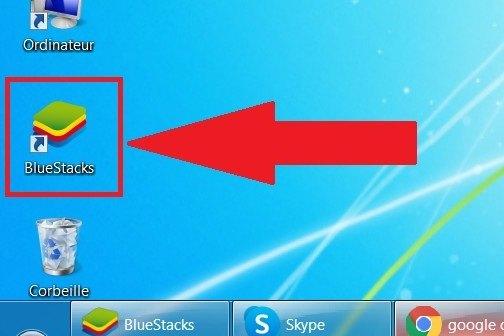 Ouvrir Bluestacks sur PC